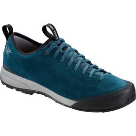 Arc'teryx Acrux SL Leather Approach Shoes Herr dark skyline/skyline